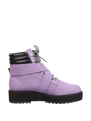 Ботинки лилового цвета | 5667610