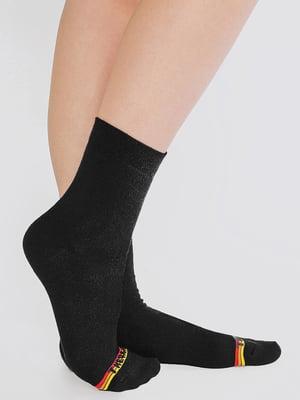 Термошкарпетки чорні з логотипом | 5664847
