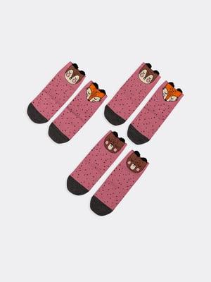 Набір шкарпеток (3 пари) | 5664856