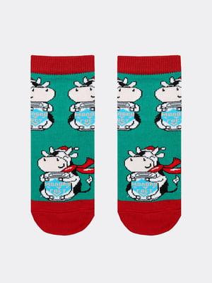 Шкарпетки в принт | 5664892