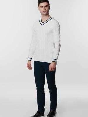 Пуловер білий | 5668802