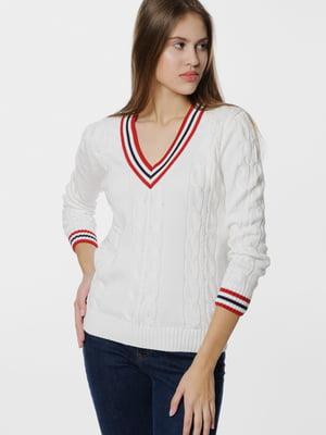 Пуловер белый | 5668811