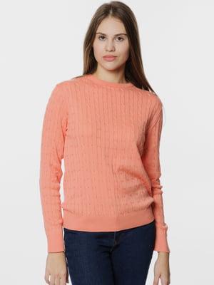 Джемпер кораллового цвета | 5668827