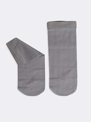 Носки в «гусиную лапку»   5664835