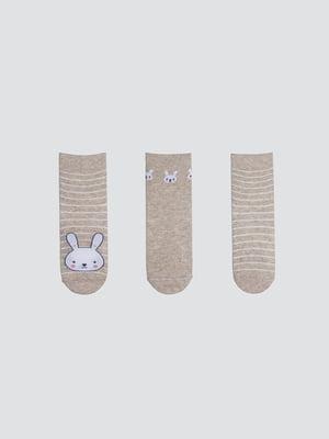 Набір шкарпеток (3 пари) | 5664854