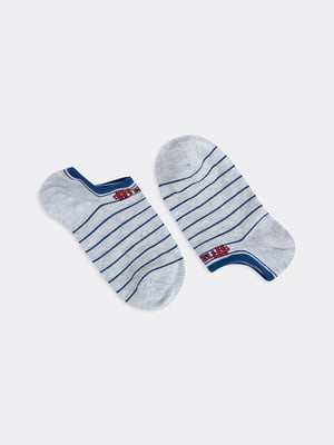 Шкарпетки сірі в смужку | 5664887