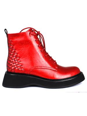 Ботинки красные | 5670800