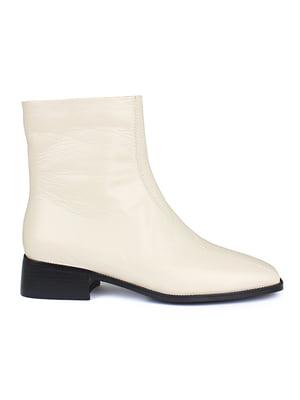 Ботинки молочного цвета | 5670805