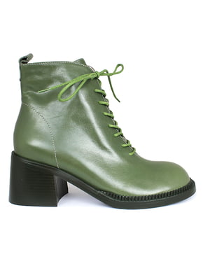 Ботинки зеленые   5670808