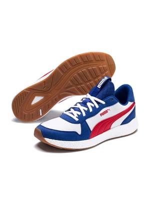 Кросівки біло-сині | 5670364