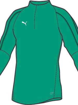 Реглан зеленого кольору | 5670565