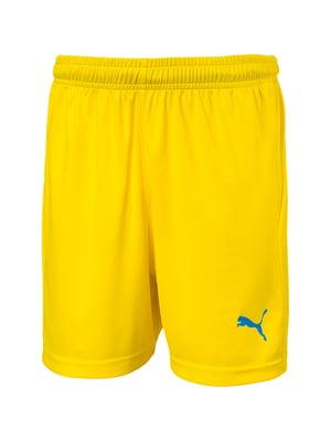 Шорты желтого цвета   5670629