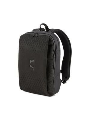 Рюкзак чорний з логотипом | 5670788