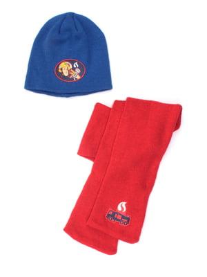 Комплект: шарф и шапка | 5671901