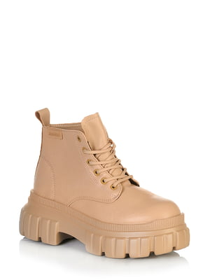 Ботинки бежевого цвета | 5672568