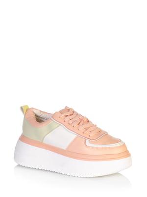 Кросівки бежевого кольору | 5672570