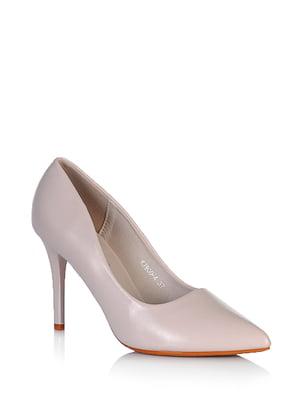 Туфлі бежевого кольору | 5672578