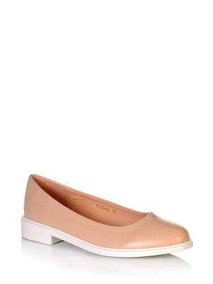 Туфлі бежевого кольору | 5672580
