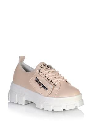 Туфли бежевого цвета   5672581