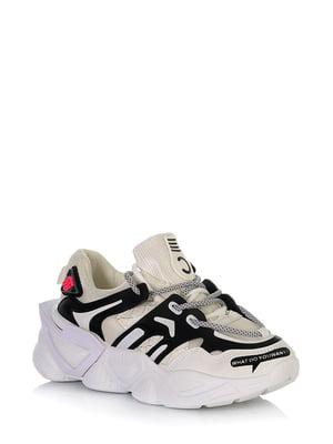 Кросівки білі з малюнком | 5672608