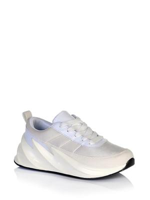 Кроссовки бело-ментолового цвета | 5672611