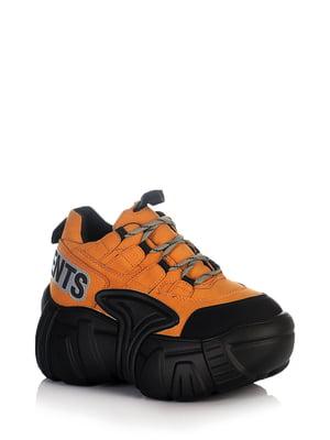 Кросівки чорно-коричневого кольору | 5672635
