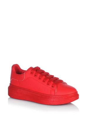 Кроссовки красного цвета | 5672636