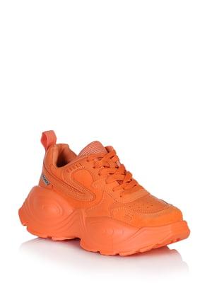Кроссовки морковного цвета | 5672640