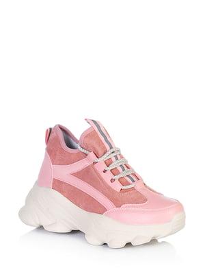 Ботинки розового цвета | 5672642