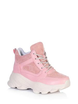 Ботинки розового цвета | 5672653