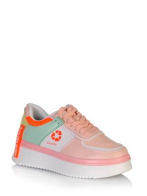 Кросівки комбінованого кольору з логотипом | 5672655