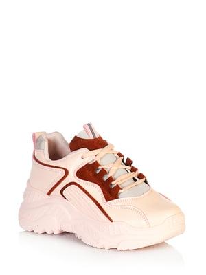Кросівки рожевого кольору | 5672656