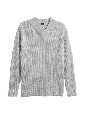 Пуловер серый   4955271