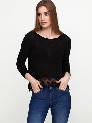 Пуловер черный | 4956519