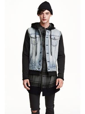 Куртка джинсовая голубая | 5235375