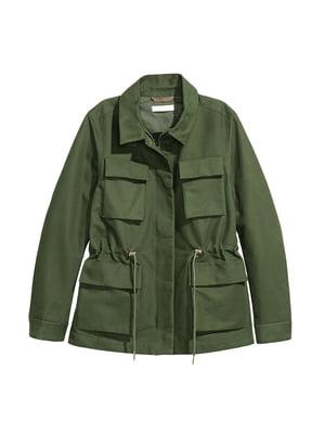 Куртка зеленая | 5236279