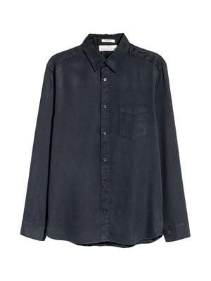 Сорочка темно-синя | 5236411