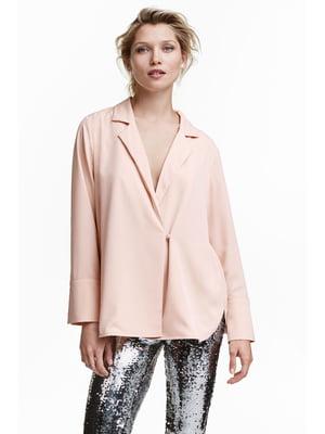 Блуза пудрового кольору   5237779