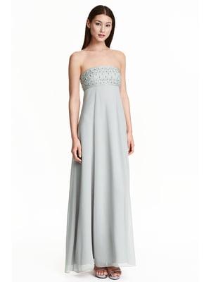 Платье светло-серое | 5237907
