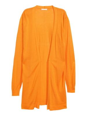 Кардиган оранжевого цвета | 5239284