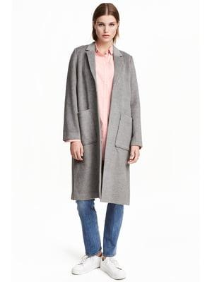 Пальто серое | 5239315
