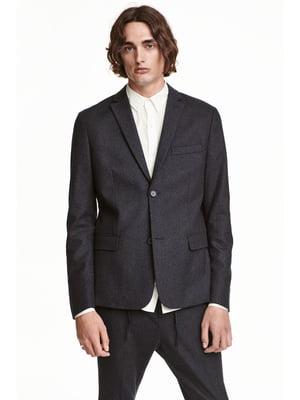 Пиджак темно-серый | 5239759