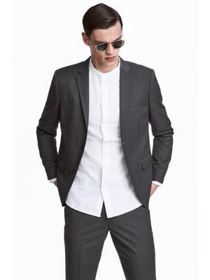 Пиджак темно-серый | 5240212