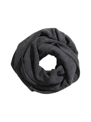 Шарф темно-сірий | 5666672
