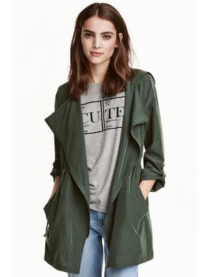 Куртка цвета хаки | 5666699