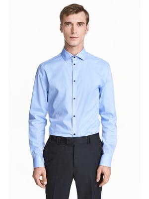 Сорочка блакитна | 5666712