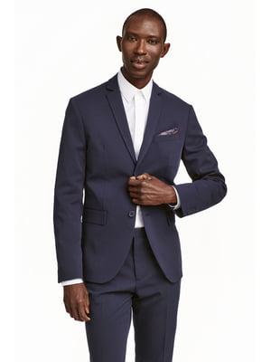 Пиджак темно-синий | 5666729