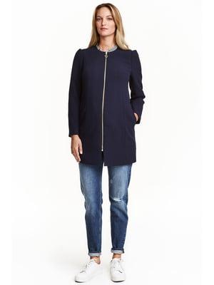 Пальто синее | 5666753