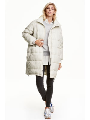 Пальто молочного цвета | 5666787