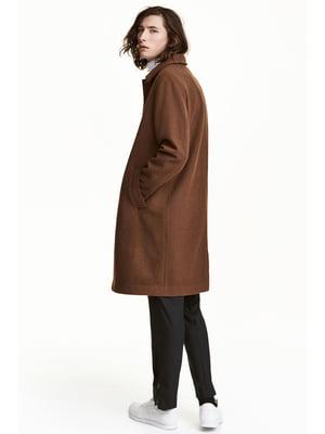 Пальто темно-карамельного цвета | 5666812